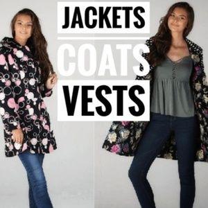 JACKETS COATS VESTS Womens Juniors